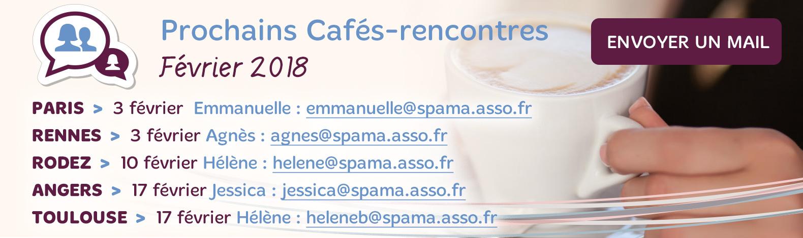 Cafés Rencontres Février 2018