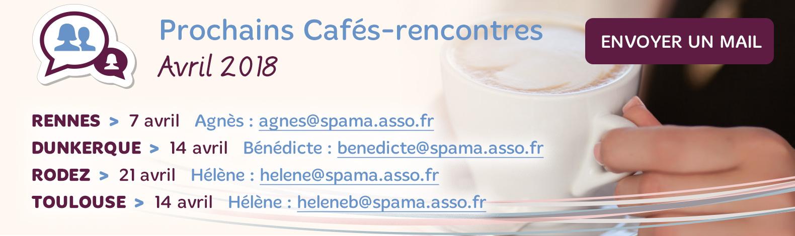 Cafés Rencontres Avril 2018