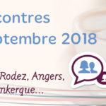 Cafés Rencontres Rentrée de septembre 2018