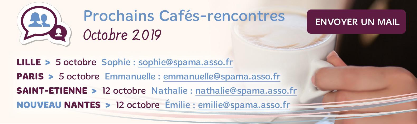 Les Cafés-Rencontres Spama d'Octobre 2019