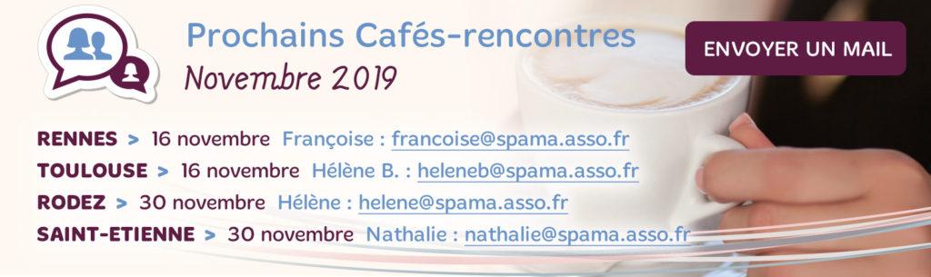 Les Cafés-Rencontres Spama de Novembre 2019