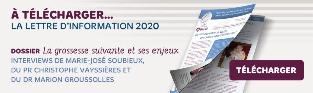Télécharger la lettre annuelle Spama 2020